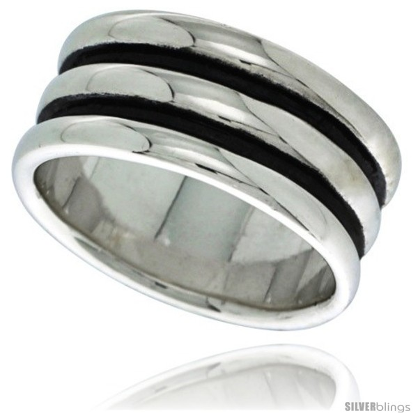 https://www.silverblings.com/29474-thickbox_default/sterling-silver-scalloped-dome-ring-7-16-in-wide-style-tr409.jpg