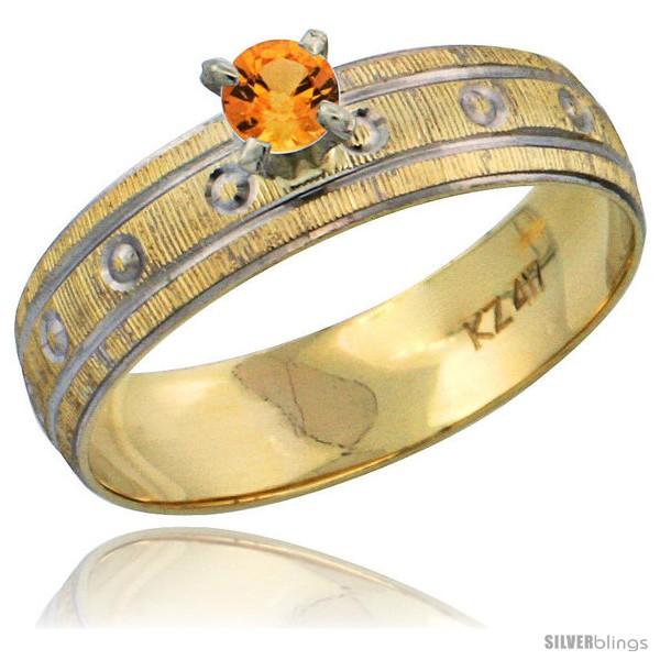 https://www.silverblings.com/29560-thickbox_default/10k-gold-ladies-solitaire-0-25-carat-orange-sapphire-engagement-ring-diamond-cut-pattern-rhodium-accent-3-16-style-10y505er.jpg