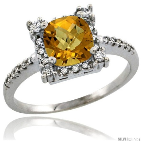https://www.silverblings.com/29614-thickbox_default/10k-white-gold-diamond-halo-whisky-quartz-ring-1-2-ct-checkerboard-cut-cushion-6-mm-11-32-in-wide.jpg