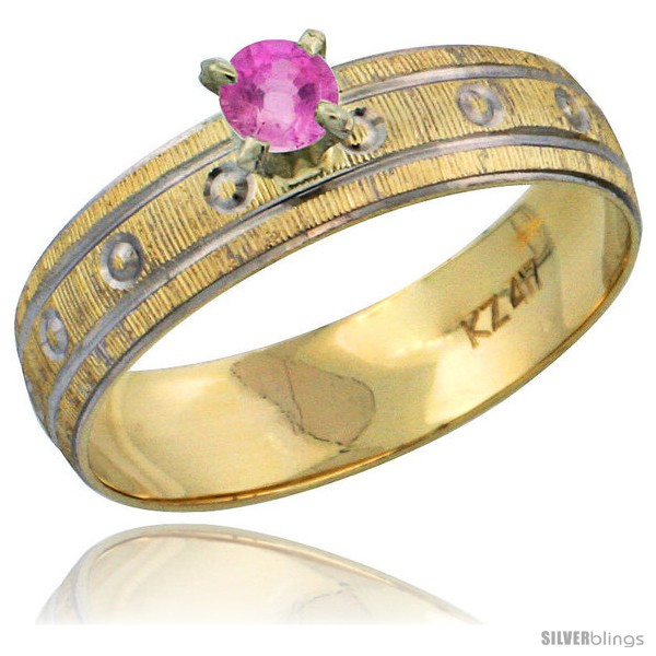 https://www.silverblings.com/29620-thickbox_default/10k-gold-ladies-solitaire-0-25-carat-pink-sapphire-engagement-ring-diamond-cut-pattern-rhodium-accent-3-16-style-10y505er.jpg