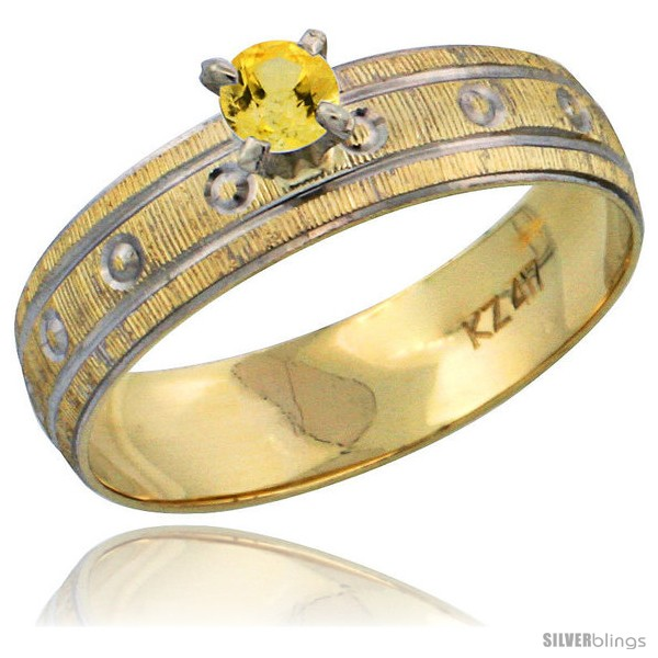 https://www.silverblings.com/29628-thickbox_default/10k-gold-ladies-solitaire-0-25-carat-yellow-sapphire-engagement-ring-diamond-cut-pattern-rhodium-accent-3-16-style-10y505er.jpg