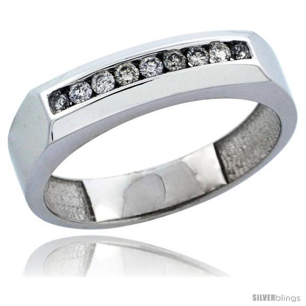 https://www.silverblings.com/29636-thickbox_default/10k-white-gold-9-stone-mens-diamond-ring-band-w-0-24-carat-brilliant-cut-diamonds-3-16-in-5mm-wide.jpg