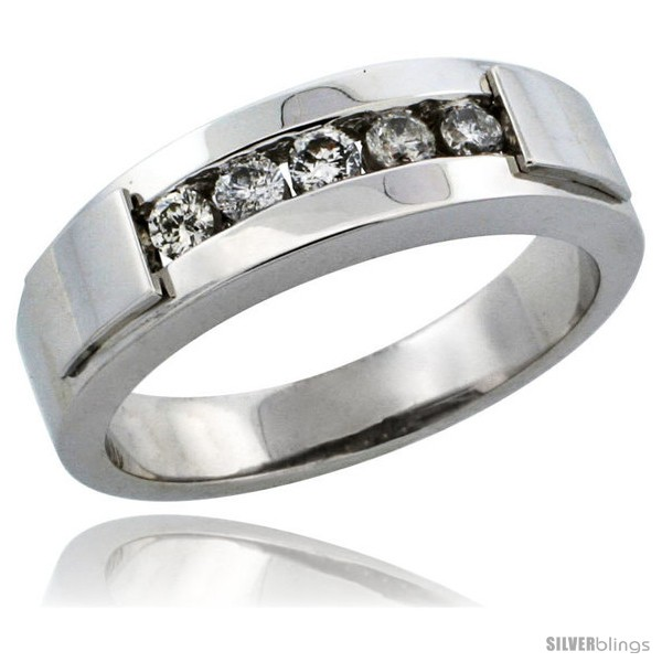 https://www.silverblings.com/29644-thickbox_default/10k-white-gold-5-stone-ladies-diamond-ring-band-w-0-21-carat-brilliant-cut-diamonds-3-16-in-5mm-wide.jpg