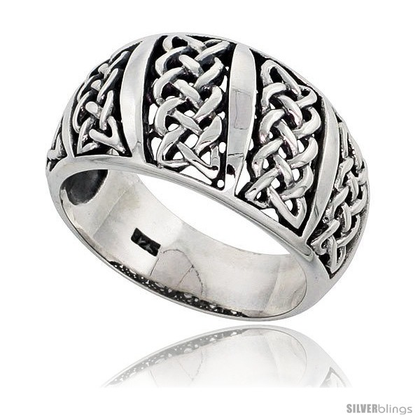 https://www.silverblings.com/29686-thickbox_default/sterling-silver-celtic-knot-dome-band-ring-flawless-finish-1-2-in-wide.jpg
