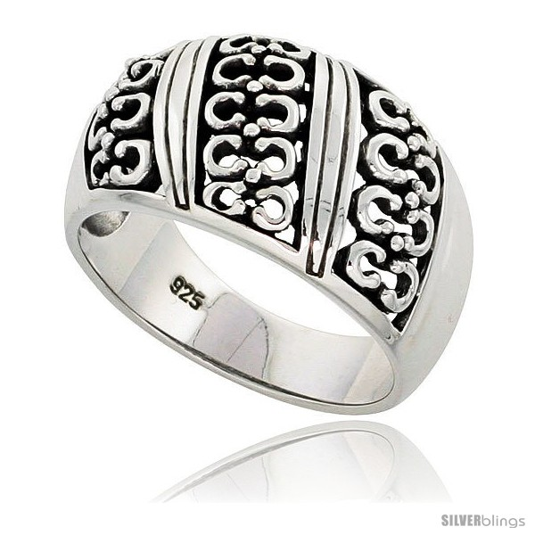 https://www.silverblings.com/29688-thickbox_default/sterling-silver-dome-cigar-band-horseshoe-ring-flawless-finish-1-2-in-wide.jpg