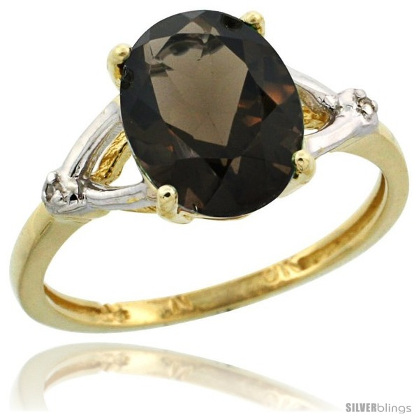 https://www.silverblings.com/29707-thickbox_default/10k-yellow-gold-diamond-smoky-topaz-ring-2-4-ct-oval-stone-10x8-mm-3-8-in-wide.jpg