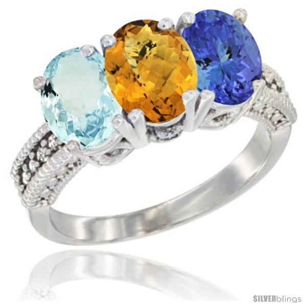 https://www.silverblings.com/29811-thickbox_default/14k-white-gold-natural-aquamarine-whisky-quartz-tanzanite-ring-3-stone-oval-7x5-mm-diamond-accent.jpg