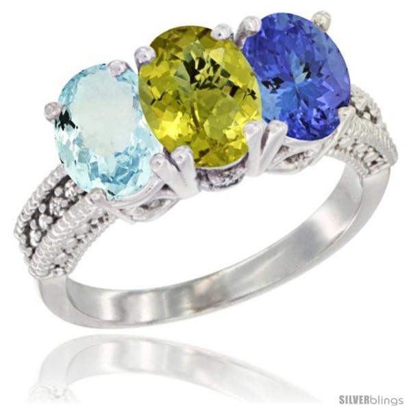 https://www.silverblings.com/29824-thickbox_default/14k-white-gold-natural-aquamarine-lemon-quartz-tanzanite-ring-3-stone-oval-7x5-mm-diamond-accent.jpg