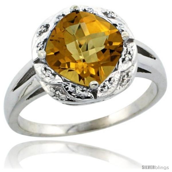 https://www.silverblings.com/29832-thickbox_default/10k-white-gold-diamond-halo-whisky-quartz-ring-2-7-ct-checkerboard-cut-cushion-shape-8-mm-1-2-in-wide.jpg