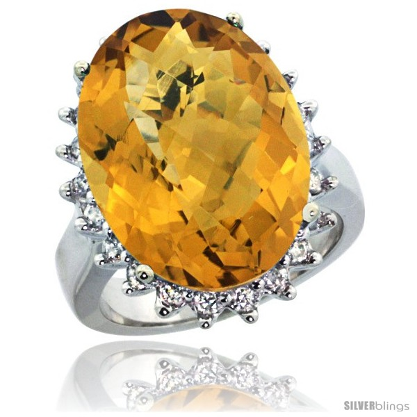 https://www.silverblings.com/29868-thickbox_default/10k-white-gold-diamond-halo-whisky-quartz-ring-10-ct-large-oval-stone-18x13-mm-7-8-in-wide.jpg