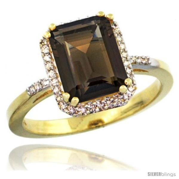 https://www.silverblings.com/30032-thickbox_default/10k-yellow-gold-diamond-smoky-topaz-ring-2-53-ct-emerald-shape-9x7-mm-1-2-in-wide.jpg
