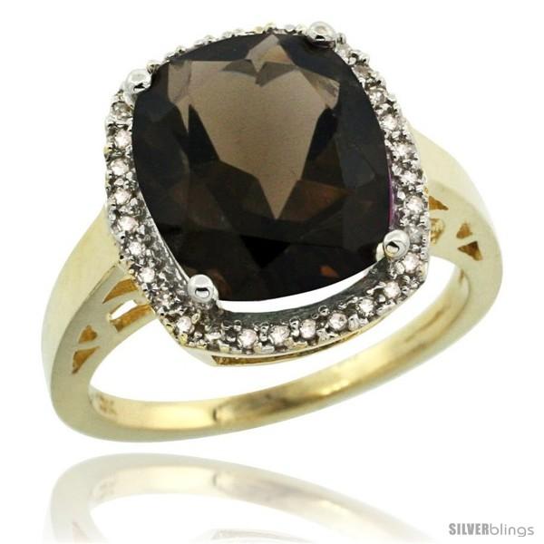 https://www.silverblings.com/30044-thickbox_default/10k-yellow-gold-diamond-smoky-topaz-ring-5-17-ct-checkerboard-cut-cushion-12x10-mm-1-2-in-wide.jpg