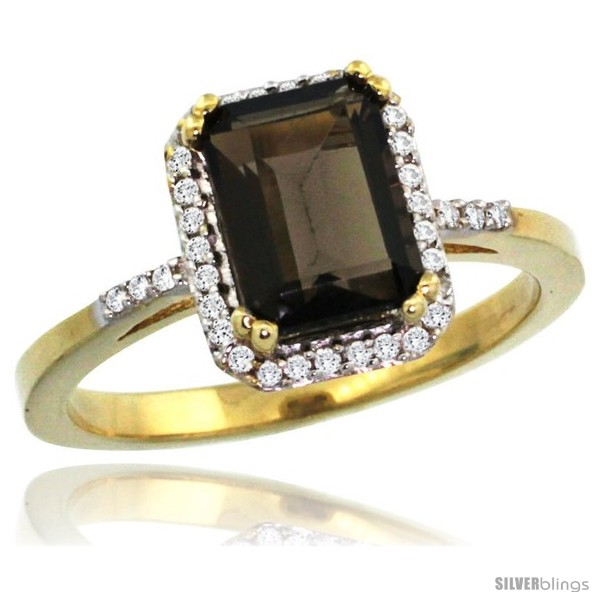 https://www.silverblings.com/30072-thickbox_default/10k-yellow-gold-diamond-smoky-topaz-ring-1-6-ct-emerald-shape-8x6-mm-1-2-in-wide-style-cy907129.jpg