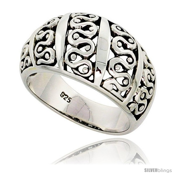 https://www.silverblings.com/30076-thickbox_default/sterling-silver-dome-cigar-band-wavy-pattern-ring-flawless-finish-1-2-in-wide.jpg