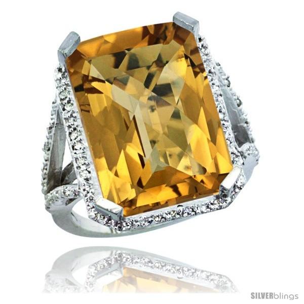 https://www.silverblings.com/30214-thickbox_default/10k-white-gold-diamond-whisky-quartz-ring-14-96-ct-emerald-shape-18x13-stone-13-16-in-wide.jpg