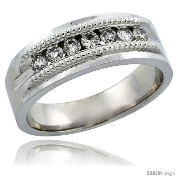 https://www.silverblings.com/30277-thickbox_default/10k-white-gold-7-stone-milgrain-design-ladies-diamond-ring-band-w-0-22-carat-brilliant-cut-diamonds-1-4-in-6-5mm-wide.jpg