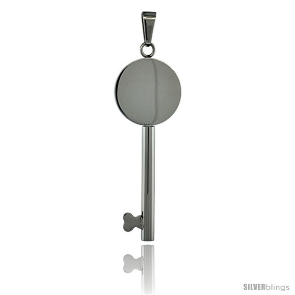 https://www.silverblings.com/3028-thickbox_default/surgical-steel-round-key-pendant-1-1-2-in-tall-w-30-in-chain.jpg