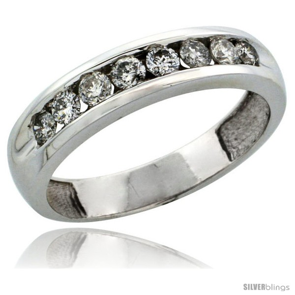 https://www.silverblings.com/30289-thickbox_default/10k-white-gold-8-stone-ladies-diamond-ring-band-w-0-47-carat-brilliant-cut-diamonds-3-16-in-4-5mm-wide.jpg