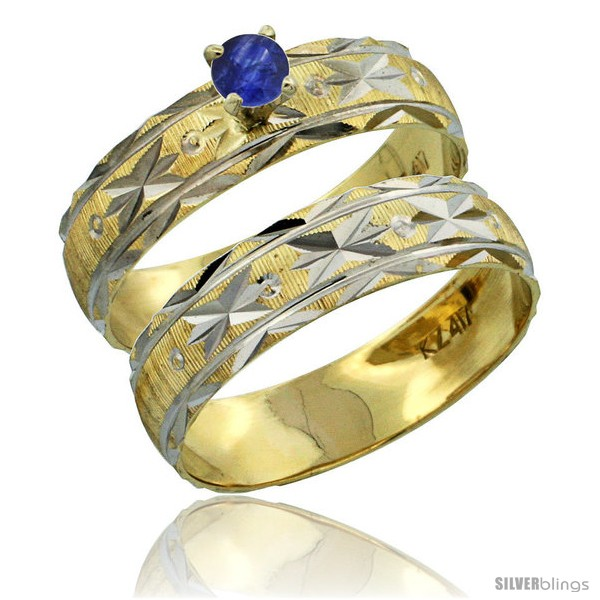 https://www.silverblings.com/30313-thickbox_default/10k-gold-ladies-2-piece-0-25-carat-deep-blue-sapphire-engagement-ring-set-diamond-cut-pattern-rhodium-accent-style-10y506e2.jpg