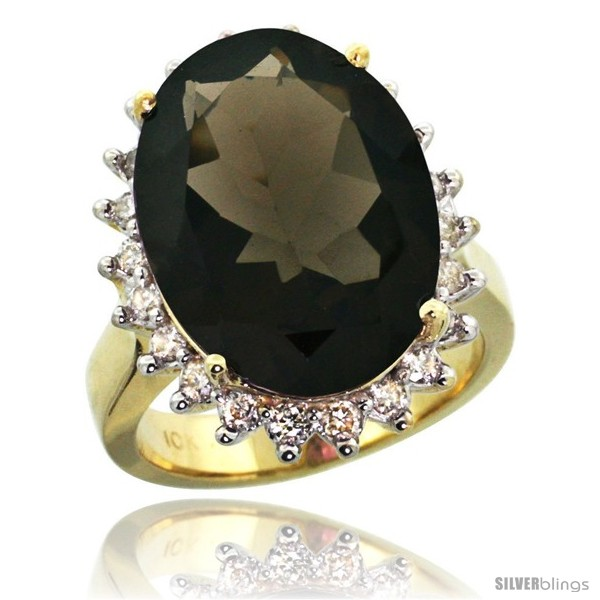 https://www.silverblings.com/30361-thickbox_default/10k-yellow-gold-diamond-halo-smoky-topaz-ring-10-ct-large-oval-stone-18x13-mm-7-8-in-wide.jpg