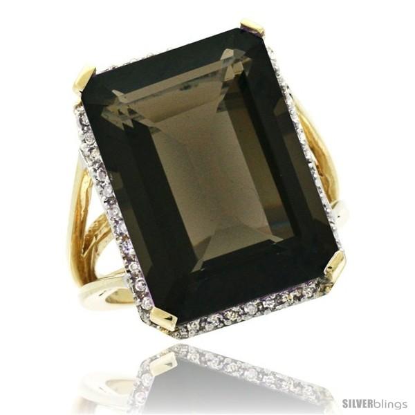 https://www.silverblings.com/30365-thickbox_default/10k-yellow-gold-diamond-smoky-topaz-ring-14-96-ct-emerald-shape-18x13-mm-stone-13-16-in-wide.jpg