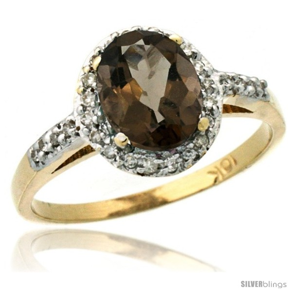 https://www.silverblings.com/30389-thickbox_default/10k-yellow-gold-diamond-smoky-topaz-ring-oval-stone-8x6-mm-1-17-ct-3-8-in-wide.jpg