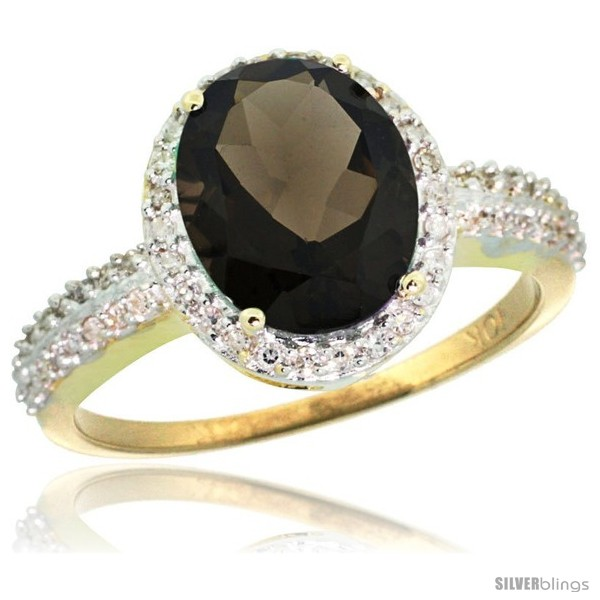 https://www.silverblings.com/30395-thickbox_default/10k-yellow-gold-diamond-smoky-topaz-ring-oval-stone-10x8-mm-2-4-ct-1-2-in-wide.jpg