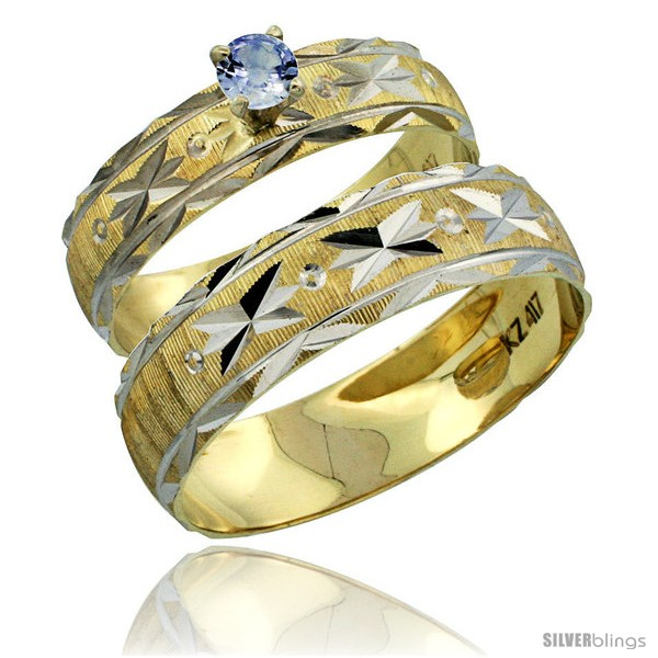 https://www.silverblings.com/30567-thickbox_default/10k-gold-2-piece-0-25-carat-light-blue-sapphire-ring-set-engagement-ring-mans-wedding-band-diamond-cut-style-10y506em.jpg