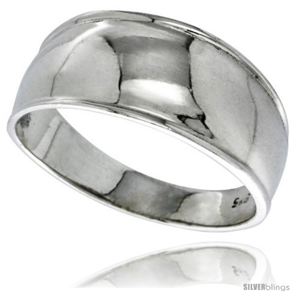 https://www.silverblings.com/30700-thickbox_default/sterling-silver-dome-wedding-band-ring-5-16-in-wide.jpg