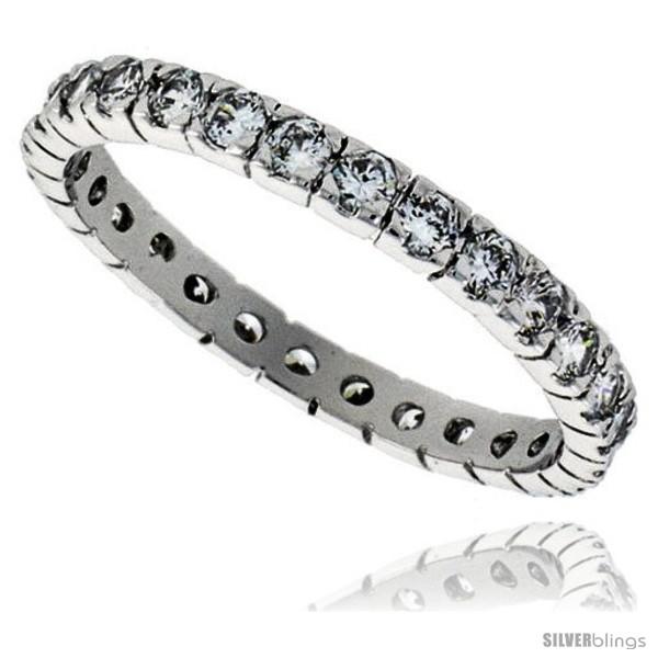 https://www.silverblings.com/30788-thickbox_default/sterling-silver-cubic-zirconia-eternity-band-ring-brilliant-cut-2mm-rhodium-finish.jpg