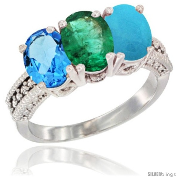 https://www.silverblings.com/30926-thickbox_default/14k-white-gold-natural-swiss-blue-topaz-emerald-turquoise-ring-3-stone-7x5-mm-oval-diamond-accent.jpg