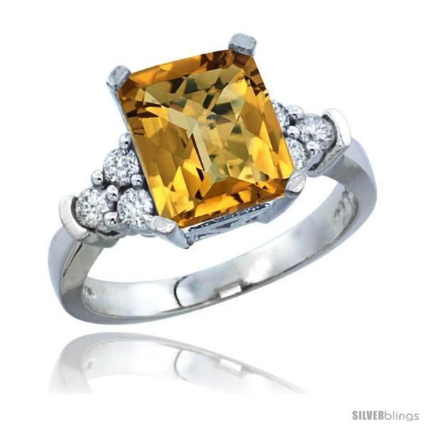https://www.silverblings.com/30990-thickbox_default/10k-white-gold-natural-whisky-quartz-ring-emerald-shape-9x7-stone-diamond-accent.jpg