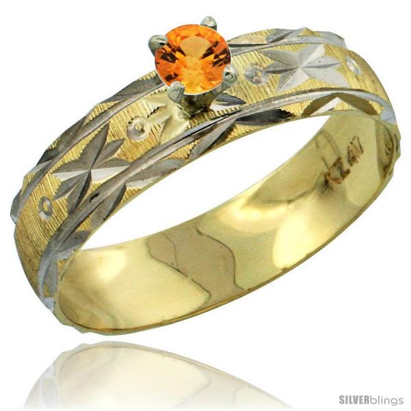 https://www.silverblings.com/31012-thickbox_default/10k-gold-ladies-solitaire-0-25-carat-orange-sapphire-engagement-ring-diamond-cut-pattern-rhodium-accent-3-16-style-10y506er.jpg