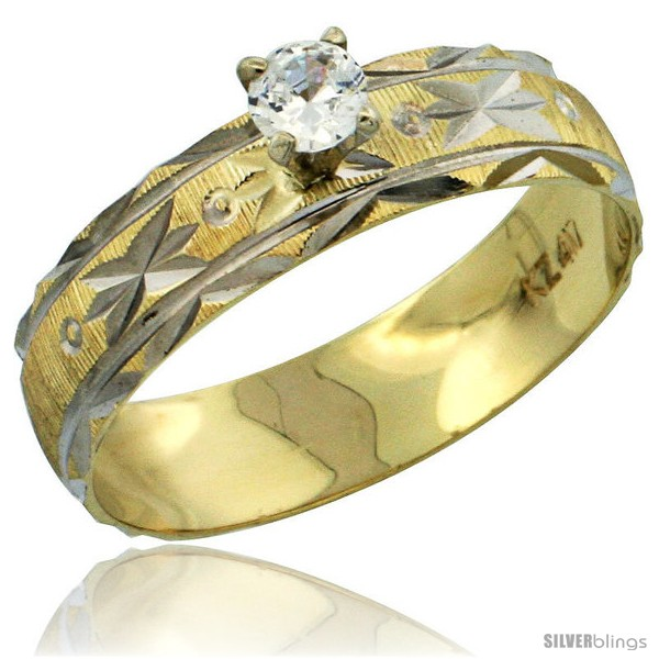 https://www.silverblings.com/31020-thickbox_default/10k-gold-ladies-solitaire-0-25-carat-white-sapphire-engagement-ring-diamond-cut-pattern-rhodium-accent-3-16-style-10y506er.jpg