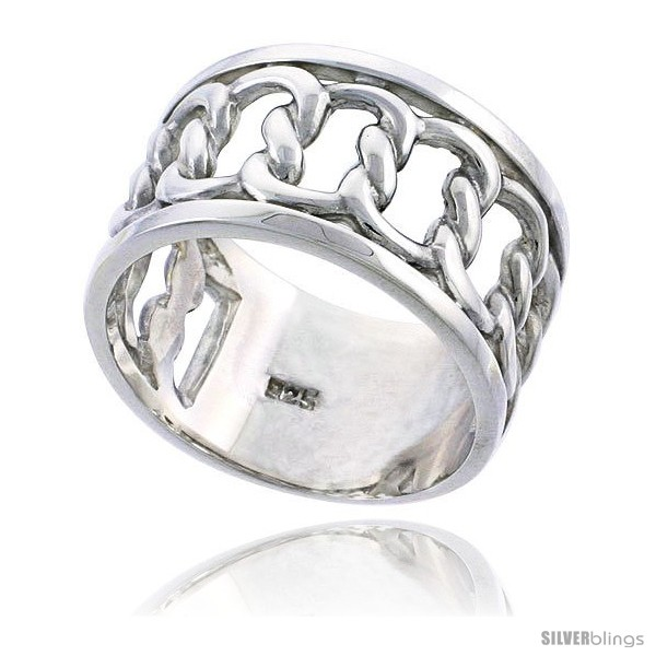 https://www.silverblings.com/31068-thickbox_default/sterling-silver-mens-interlaced-link-chain-wedding-ring-flawless-finish-1-2-in-wide.jpg