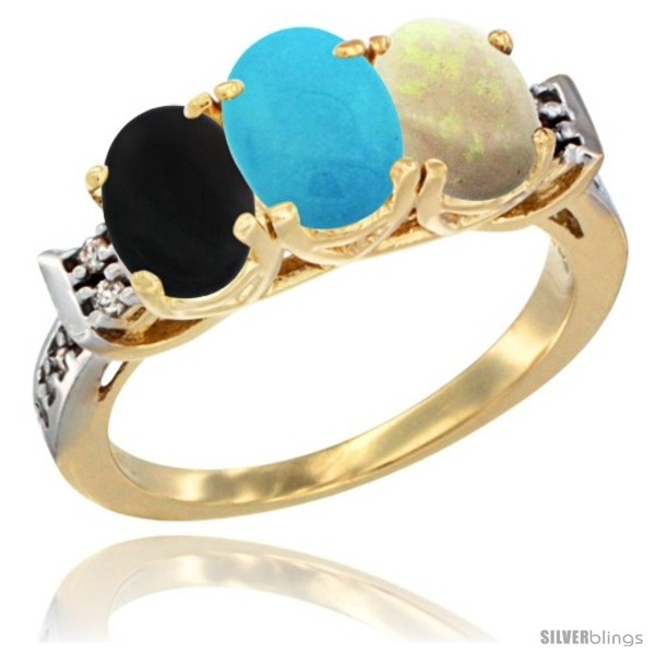 https://www.silverblings.com/31184-thickbox_default/10k-yellow-gold-natural-black-onyx-turquoise-opal-ring-3-stone-oval-7x5-mm-diamond-accent.jpg