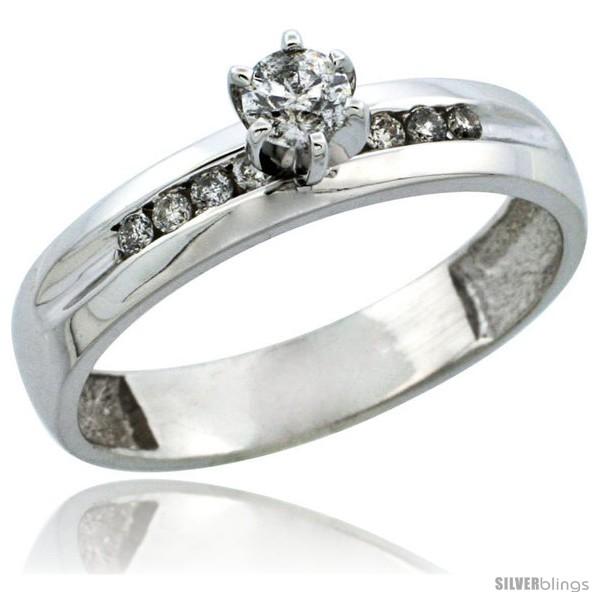 https://www.silverblings.com/31236-thickbox_default/10k-white-gold-diamond-engagement-ring-w-0-26-carat-brilliant-cut-diamonds-5-32-in-4mm-wide.jpg