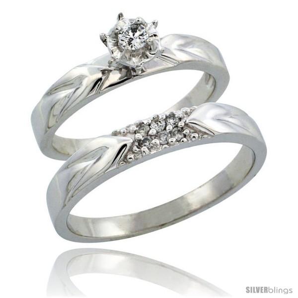 https://www.silverblings.com/31394-thickbox_default/10k-white-gold-2-piece-diamond-ring-band-set-w-rhodium-accent-engagement-ring-mans-wedding-band-w-0-13-carat.jpg