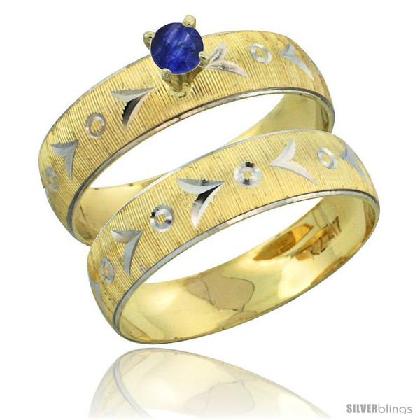 https://www.silverblings.com/31487-thickbox_default/10k-gold-ladies-2-piece-0-25-carat-deep-blue-sapphire-engagement-ring-set-diamond-cut-pattern-rhodium-accent-style-10y507e2.jpg