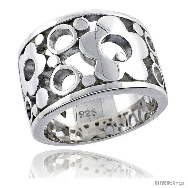 https://www.silverblings.com/31547-thickbox_default/sterling-silver-bubbles-flower-ring-flawless-finish-1-2-in-wide.jpg