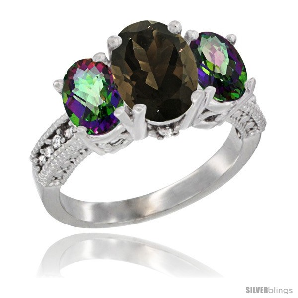 https://www.silverblings.com/3164-thickbox_default/10k-white-gold-ladies-natural-smoky-topaz-oval-3-stone-ring-mystic-topaz-sides-diamond-accent.jpg