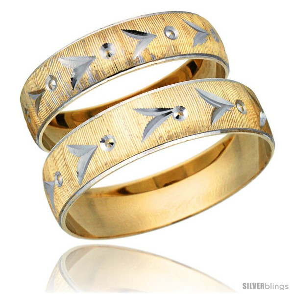 https://www.silverblings.com/32067-thickbox_default/10k-gold-2-piece-wedding-band-ring-set-him-her-5-5mm-4-5mm-diamond-cut-pattern-rhodium-accent-style-10y507w2.jpg