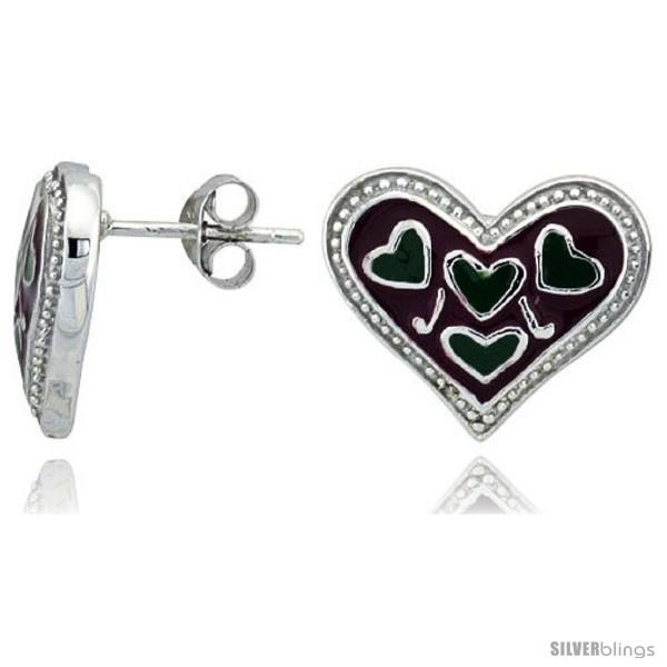 https://www.silverblings.com/32194-thickbox_default/sterling-silver-1-2-13-mm-tall-heart-post-earrings-rhodium-plated-w-red-green-enamel-designs.jpg