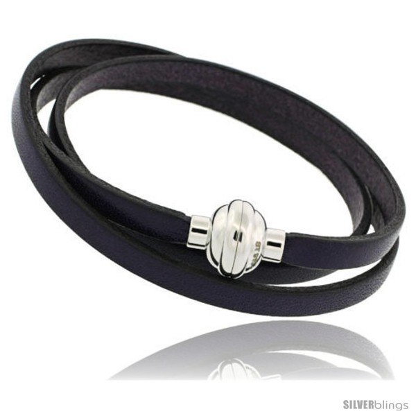 https://www.silverblings.com/322-thickbox_default/surgical-steel-italian-leather-wrap-massai-bracelet-w-super-magnet-clasp-color-deep-purple.jpg