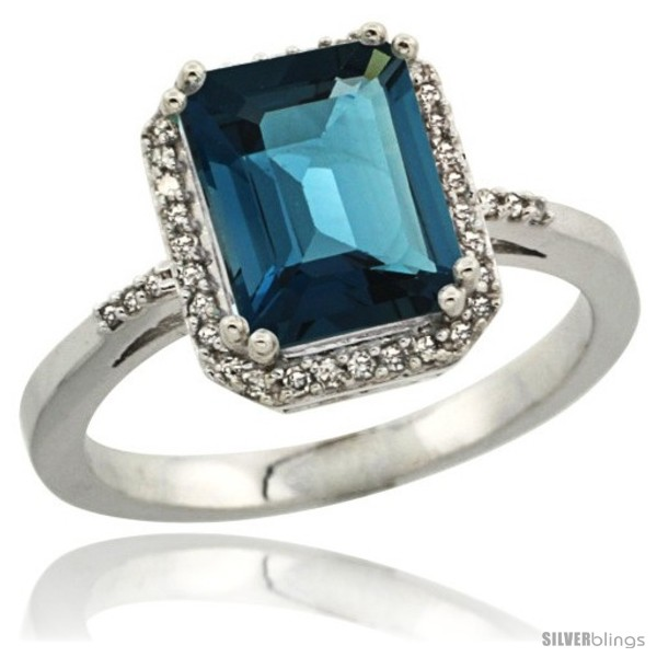 https://www.silverblings.com/3235-thickbox_default/sterling-silver-diamond-natural-london-blue-topaz-ring-2-53-ct-emerald-shape-9x7-mm-1-2-in-wide.jpg