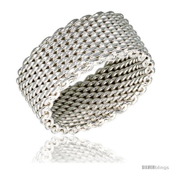 https://www.silverblings.com/32498-thickbox_default/sterling-silver-heavy-mesh-ring-handmade-5-16-in-wide.jpg