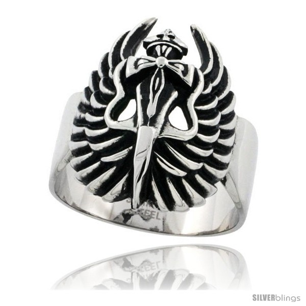https://www.silverblings.com/3254-thickbox_default/surgical-steel-biker-ring-dagger-cross-wings-1-1-16-in-wide.jpg