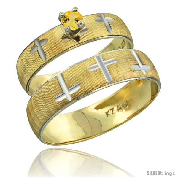https://www.silverblings.com/32874-thickbox_default/10k-gold-2-piece-0-25-carat-yellow-sapphire-ring-set-engagement-ring-mans-wedding-band-diamond-cut-pattern-style-10y508em.jpg