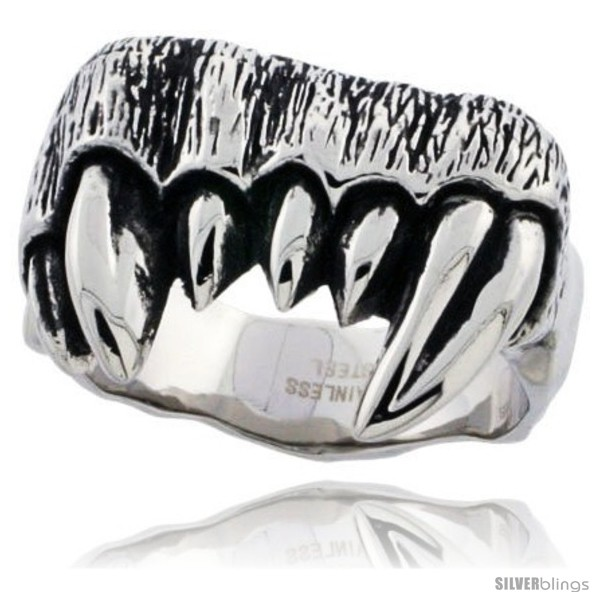 https://www.silverblings.com/3301-thickbox_default/surgical-steel-biker-ring-fangs-3-4-in.jpg