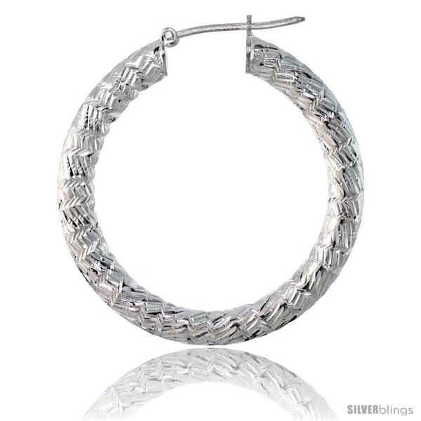 DiamondJewelryNY Bangle Bracelet Zig Zag Tube Fancy Bangle